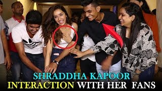 Shraddha Kapoor Interaction With Her Fans | Shraddha Kapoor