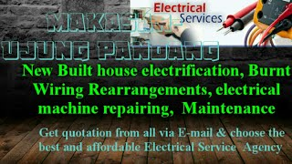 Makasar Ujung Pandang    Electrical Services 》Home Service by Electricians • House electrification