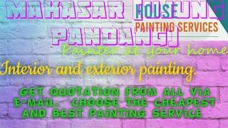 MAKASAR  UJUNG PANDANG   HOUSE PAINTING SERVICES 》Painter at your home ◇ near me ☆ Interior & Exteri