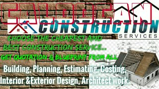 CALOOCAN        Construction Services 》Building ☆Planning  ◇ Interior and Exterior Design ☆Architect