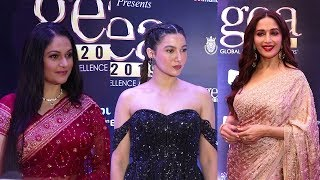 Madhuri Dixit & Gracy Singh Attended 2nd Edition Of Global Excellence Awards 2019