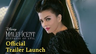 Maleficent Mistress of Evil HINDI Official Trailer Launch | Aishwarya Rai