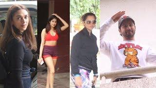 Sania mirza, Janhvi kapoor, Aditi rao hydari , Varun dhawan, Kartik aryaan Spotted