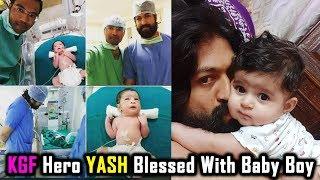 KGF Hero YASH Blessed With Baby Boy | Radhika Pandit