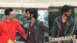 Vidyut Jamwal With Gulshan Devaiah Spotted Promoting Their Film Commando 3 At Novotel