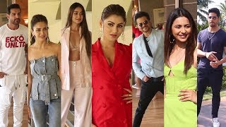 Pagal Panti Movie Team & Marjaavaan Movie Team Spotted During The Promotions