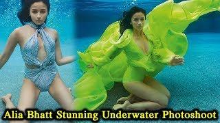 Alia Bhatt Stunning Underwater Photoshoot