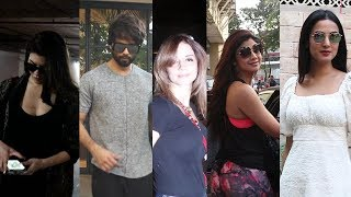Jacqueline fernandez, Shilpa shetty, Shahid, Sussanne Khan, Sonal chauhan, Aayush sharma Spotted