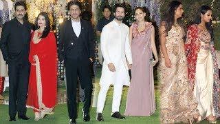 Shahrukh, Abhishek, Shahid And Many Celebrates Attended Mukesh Ambani's Niece's Pre-Wedding Bash