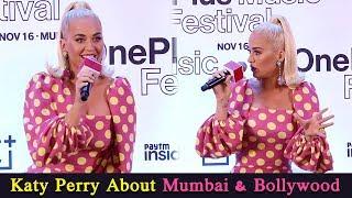 Katy Perry About Mumbai & Bollywood | Katy Perry | One Plus India