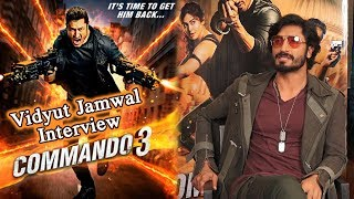Vidyut Jamwal Interview Commando 3 | Adah Sharma | Aditya Datt