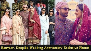Ranveer Singh, Deepika Padukone Wedding Anniversary Exclusive Photos