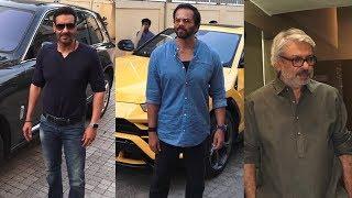 Ajay Devgan Host Trailer Preview Of Tanhaji | Sanjay Leela Bhansali | Rohit Shetty
