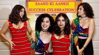 Saand Ki Aankh Team Success Celebration   Taapsee Pannu   Bhumi Pednekar
