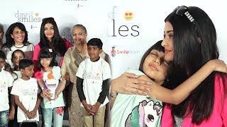 Smile Train India Celebrate The Day Of Smiles With Aishwarya Rai & Aaradhya Bachchan