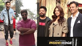 Inside Edge Team Spotted Promoting Season 2 | Vivek Oberoi