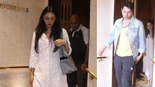 Kiara advani, Varun dhawan Pay Last Respects To Shabana Azmi's Mother Shaukat