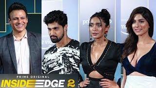 Vivek Oberoi, Angad Bedi, Sayani Gupta And Many Celebrities At Inside Edge 2 Screening