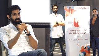 "Rana Daggubati Launched 'Urban-i"" With Anthill Ventures"