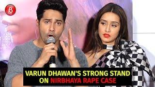 Varun Dhawan Has A STRONG Stand On The Nirbhaya Rape Case