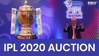 Top 6 players in the IPL 2020 Auction || IPL Auction 2020 Top Players List: Players