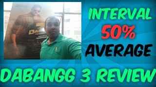 Dabangg 3 Movie Review Till Interval