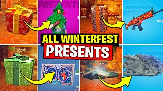 ALL WINTERFEST PRESENTS OPENING (ALL DAYS PRESENTS) DAY 1 to DAY 14 ALL REWARDS n GIFTS