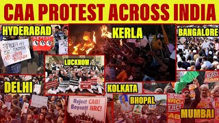 CAA Protest Across India | Delhi, Mumbai, Kolkata, Hyderabad, Bangalore Protest | Satya Bhanja
