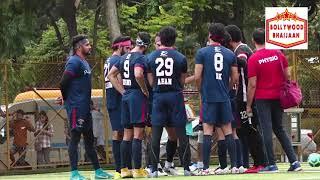 RANBIR,ABHISHEK,AHAN SHET     OTHERS PLAY SUNDAY FOOTBALL
