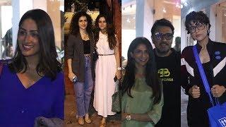 Screening Of Movie Bala Attend Yami Gautam, Tahira Kashyap And Sanya Malhotra