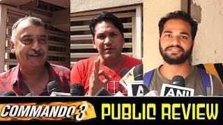 Commando 3 Public Talk   Commando 3 Movie Review   Vidyut Jamwal Commando 3 Movie