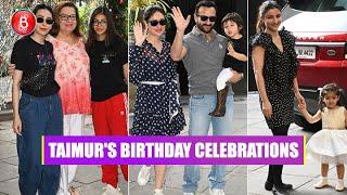 Taimur Ali Khan's Cutesy Little Birthday Party