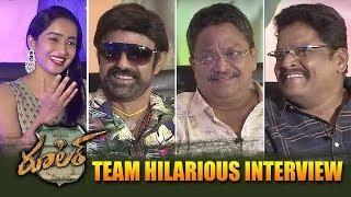 Ruler Movie Team Hilarious Interview || Nandamuri Balakrishna || Bhavani HD Movies