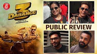 Dabangg 3 Public Review | First Day First Show | Salman Khan | Saiee Manjrekar | Sonakshi Sinha