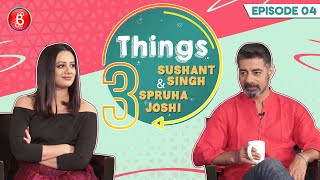 Sushant Singh & Spruha Joshi's Hilarious Take On Promotional Interviews | 3 Things | Rangbaaz Phirse