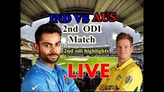 Live Match : 2nd ODI at Eden Gardens Highlights
