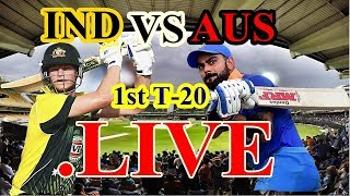 Live Match : Live cricket score, India vs Australia, 1st T20, Ranchi, Ind vs aus 1st t20i Highlights