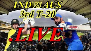 Ind vs Aus 3rd T20I Live Online Streaming:IND vs AUS T20 live| Match Called Off Due to Wet Outfield