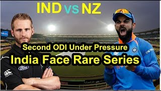 iND VS NZ : 2nd ODI Under Pressure India Face Rare Series Defeat at Home