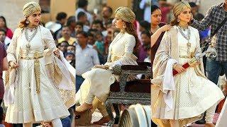 Kangna Ranaut Look In Manikarnika Leaked | Manikarnika: The Queen of Jhansi | Kangna Ranaut