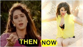 Mohra Film Actress Poonam Jhawer Then And Now | shocking Transformation  | Poonam Jhawer