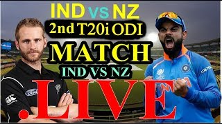 Live match: India vs New Zealand 2nd T20,  Live score #indvsnz highlights