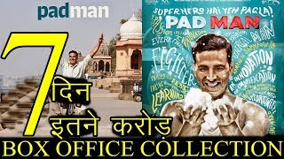PadMan Box Office Collection 7th Day Total Wednesday 7th Day Worldwide Earning