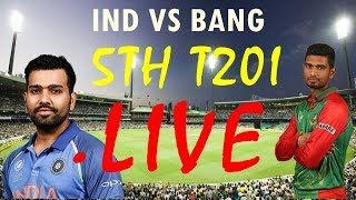LIVE : India vs Bangladesh 5th T20  |india vs bangladesh highlights 5th T20