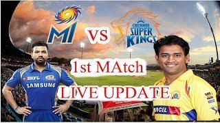IPL 2018 : MI vs CSK Highlight: mi vs csk 1st match highlight 2018, Csk won by 1 wkt