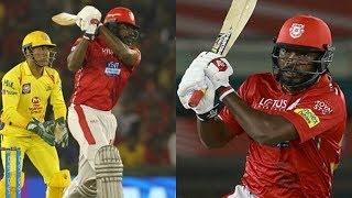IPL 2018 CSK vs KXIP Full Match ,chris gayle ,KXIP beat CSK by 4 runs