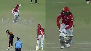 IPL 2018 KXIP vs SRH at Mohali:Chris Gayle 60 Run Batting