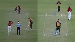 IPL2018 SRH VS KXIP Chris gayle Batting , Kane Williamson Batting