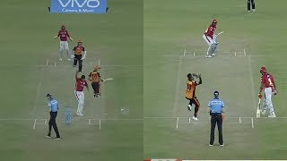 IPL2018 SRH VS KXIP Mohali Chris Gayle 104 Run in 63 Ball