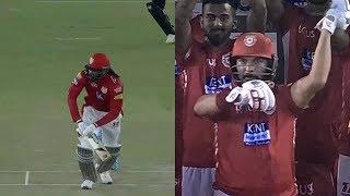 IPL2018 KXIP VS SRH : Yuvraj Singh Chris Gayle And Preity Zinta Dance After Winning Team
